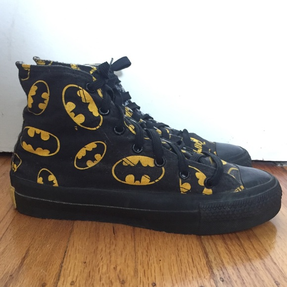 242bc1a33b7a1f Converse Other - Vintage 80s Batman Converse Made in USA EUC Marvel